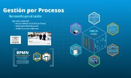 Gestión por Procesos_para curso de Modelo de Gestión