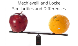 Copy of Locke versus Machiavelli