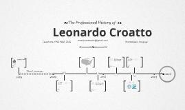 Timeline Prezumé de Leonardo Croatto