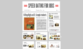 SPEED DATING FOR JOBS