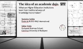 Academic dojo