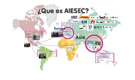 ACCENTURE ¿Que es AIESEC?