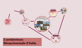L'architettura rinascimentale d'Italia