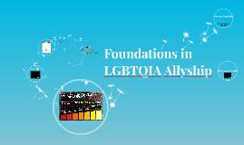 Foundations in LGBTQIA Allyship