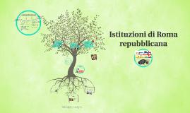 Copy of Istituzioni di Roma repubblicana