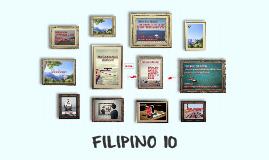 Copy of FILIPINO 10