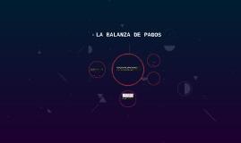 LA BALANZA DE PAGOS