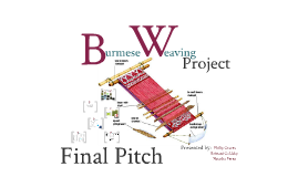 Final Pitch for Burmese Weavers of Lowell, MA