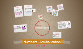 Numbers – Multiplication