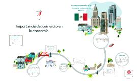 Copy of Importancia del comercio en la economía.