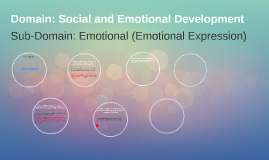 Domain: Social and Emotional Development
