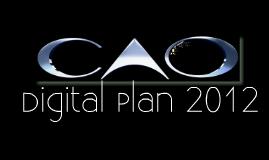 CAO Digital Plan