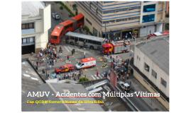 AMUV - Acidentes com Múltiplas Vítimas