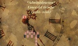 Copy of Linea del tiempo *Administracion* 1RM1