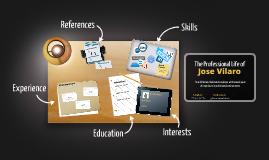 Desktop Prezumé de José  Vilaro
