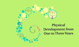 Physical Development from One to Three Years