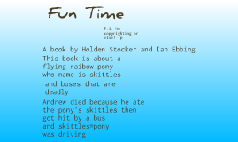 Copy of Fun Time