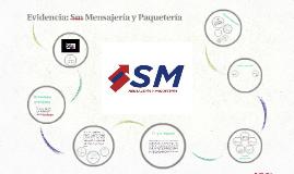 Evidencia: Sm Mensajería y Paquetería