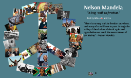 Nelson Mandela A Long Walk To Freedom