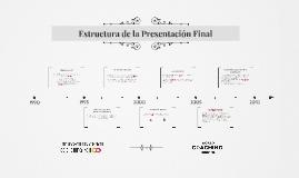 Estructura de la Presentación Final