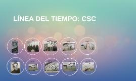 LÍNEA DEL TIEMPO: CSC