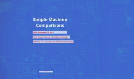 Simple Machine Comparisons