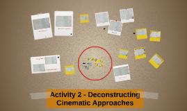Activity 2 - Deconstructing