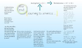 Journey to America.