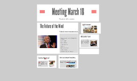 Meeting March 18