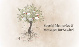 Sawitri's Special Memories & Messages