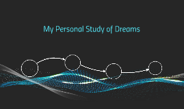 My Personal Study of Dreams