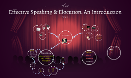 Elocution and Public Speaking