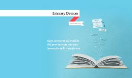 Copy of Copy of Reusable EDU Design: Literary Devices