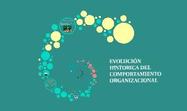 Copy of EVOLUCIÓN HISTÓRICA DEL COMPORTAMIENTO ORGANIZACIONAL