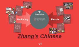 Zhang's Chinese