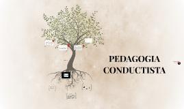 PEDAGOGIA CONDUCTISTA