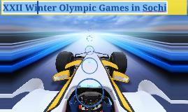 XXII Winter Olympic Games in Sochi