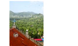 Haiti Research Project