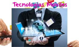 Tecnologías Moviles