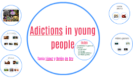 Copy of Adictions in young people