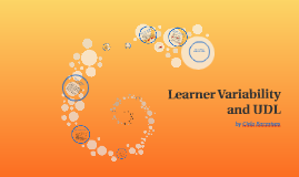 Learner Variability and UDL