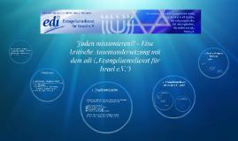 Copy of Juden missionieren?! - Eine kritische Auseinandersetzung mit
