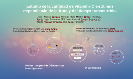 Copy of Investigación Vitamina C