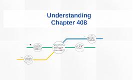 Understanding Chapter 408