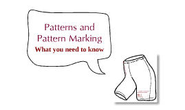 Boxer Shorts - Patterns and Pattern Cutting