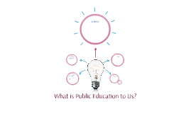 What is Public Education to Us?