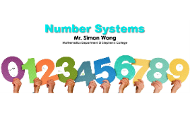 F.4_01 Number Systems