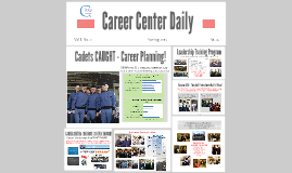 The Citadel Career Center starts the career planning process EARLY!