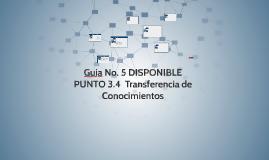 Guia No. 5 DISPONIBLE