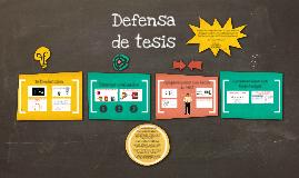 Defensa de Tesis PhD. María S Herrera